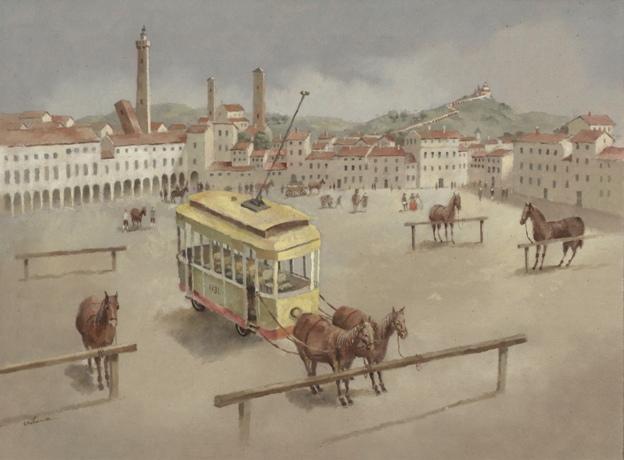 Tramvaiul cu cai